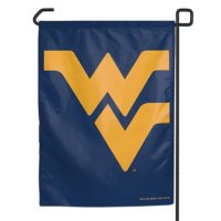 West Virginia Mountaineers Garden Flag By Wincraft 11
