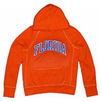 Florida Hooded Sweatshirt - Ladies Hoody By League - Orange