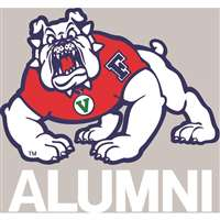 Fresno State Bulldogs Transfer Decal - Alumni