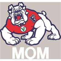 Fresno State Bulldogs Transfer Decal - Mom