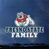 Fresno State Bulldogs Transfer Decal - Family