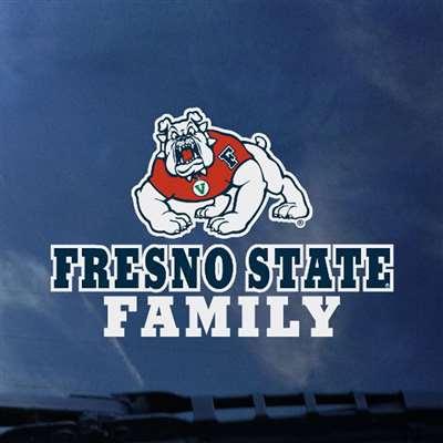 Fresno State Bulldogs Transfer Decal Family