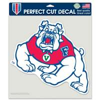 "Fresno State Bulldogs Full Color Die Cut Decal - 8"" X 8"""