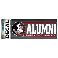 Florida State Seminoles Die Cut Decal Strip - Alumni