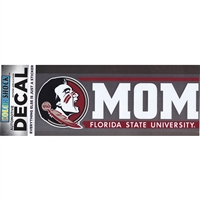 Florida State Seminoles Die Cut Decal Strip - Mom