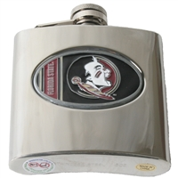 Florida State Seminoles Stainless Steel Hip Flask