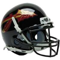 Florida State Seminoles Mini Helmet By Schutt - Black