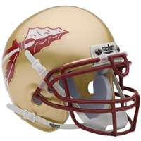 Florida State Seminoles Mini Helmet By Schutt - Gold