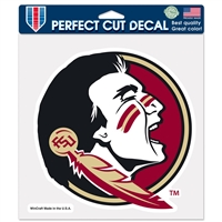 "Florida State Seminoles Full Color Die Cut Decal - 8"" X 8"""