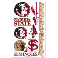 Florida State Seminoles Temporary Tattoos