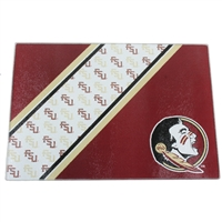 Florida State Seminoles Glass Cutting Board
