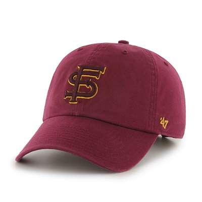 new arrival d9dc1 3b90a Florida State Seminoles  47 Brand Clean Up Adjustable Hat