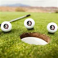 Florida State Seminoles Golf Balls - Set of 3