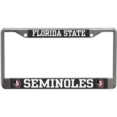 Florida State Seminoles Metal License Plate Frame