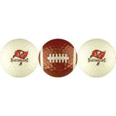 Tampa Bay Buccaneers - 3 Golf Balls