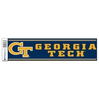 Georgia Tech Yellow Jackets Bumper Sticker