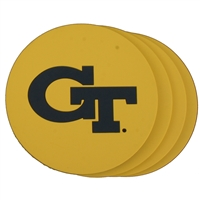 Georgia Tech Yellow Jackets Coaster Set - 4 Pack