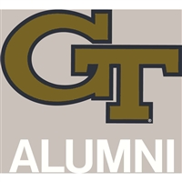 Georgia Tech Yellow Jackets Transfer Decal - Alumni