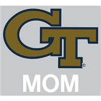 Georgia Tech Yellow Jackets Transfer Decal - Mom