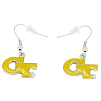 Georgia Tech Yellow Jackets Dangler Earrings