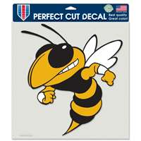 "Georgia Tech Yellowjackets Full Color Die Cut Decal - 8"" X 8"""