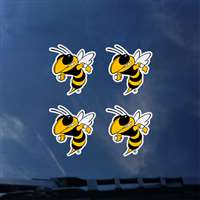 Georgia Tech Yellow Jackets Transfer Decals - Set of 4