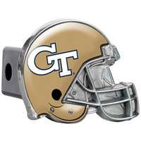 Georgia Tech Yellow Jackets Trailer Hitch Receiver Cover - Helmet