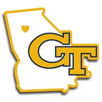 Georgia Tech Yellow Jackets Home State Decal