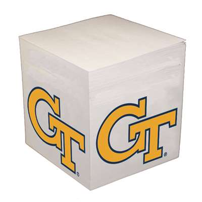 Georgia Tech Yellow Jackets Sticky Note Memo Cube - 550 Sheets