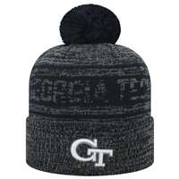 Georgia Tech Yellow Jackets Top of the World Sock It 2 Me Knit Beanie