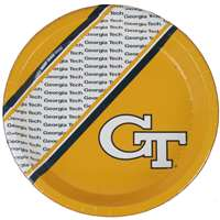Georgia Tech Yellow Jackets Disposable Paper Plates - 20 Pack