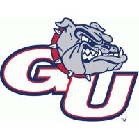 Gonzaga Bulldogs Perforated Vinyl Window Decal