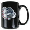 Gonzaga Bulldogs 15oz Black Ceramic Mug