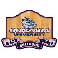 Gonzaga Bulldogs Wood Sign - Est. 1881