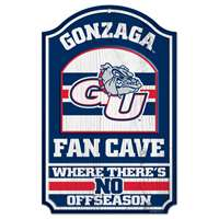 Gonzaga Bulldogs Wood Sign - Fan Cave