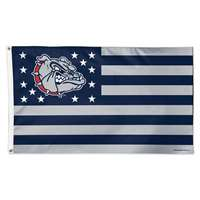 Gonzaga Bulldogs Flag By Wincraft 3' X 5' - Stars and Stripes