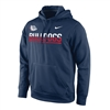 Nike Gonzaga Bulldogs Therma-FIT Performance Hoodie - Navy