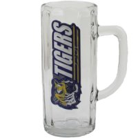 Lsu Tigers Glass Tankard - 22 Oz