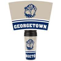 Georgetown Hoyas 16oz Plastic Travel Mug