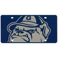 Georgetown Hoyas Full Color Mega Inlay License Plate