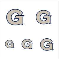 Georgetown Hoyas Fingernail Tattoos - 4 Pack