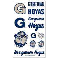 Georgetown Hoyas Temporary Tattoos