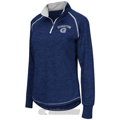 Georgetown Hoyas Women's Colosseum Bikram 1/4 Zip Jacket