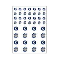 Georgetown Hoyas Small Sticker Sheet - 2 Sheets