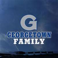 Georgetown Hoyas Transfer Decal - Family