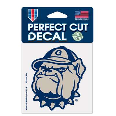 "Georgetown Hoyas Full Color Die Cut Decal - 4"" X 4"""
