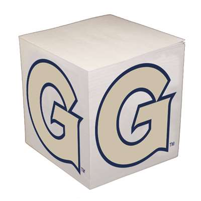 Georgetown Hoyas Sticky Note Memo Cube - 550 Sheets