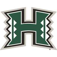 Hawaii Warriors Die-Cut Transfer Decal