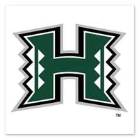 Hawaii Rainbow Warriors Temporary Tattoo - 4 Pack