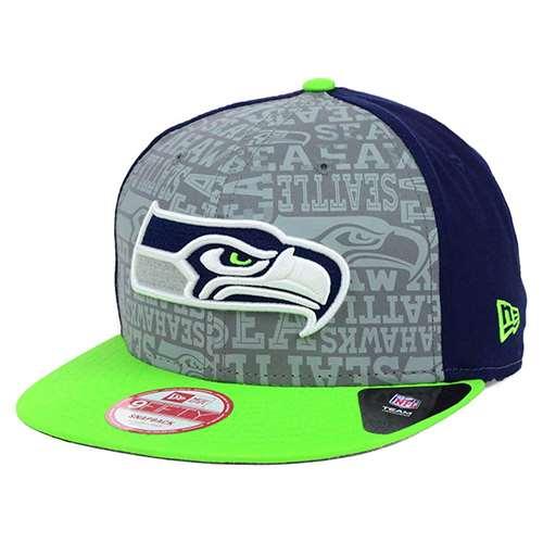0925dd8cf Seattle Seahawks New Era 9Fifty 2014 NFL Draft Snapback Hat